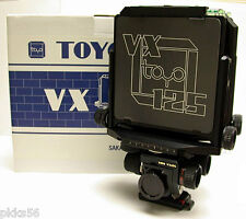TOYO (TOYO-VIEW) VX 125 B (BLACK) CAMERA BODY 4x5
