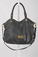 Marc by Marc Jacobs Q FRAN Black Pebble Leather Shoulder/Crossbody Bag 853 AC317