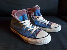Converse Chuck Taylor 'Missoni' High Top Trainers UK 5.5 (Women) Blue Mix BNWT