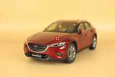 1/18 2016 new Mazda cx-4 model red color+gift