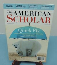the American Scholar -- Autumn 2010 issue (climate change, etc.)    V/G +