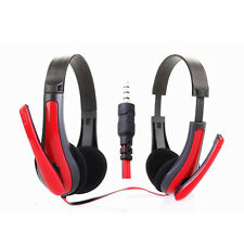 Stereo Headset Headband Over-Ear Headphone Earphone With Mic For Mobile Phone