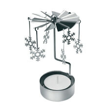 Traditional Spinning Christmas Chime Tealight Candle Xmas Gift Table Decoration