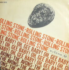 """THE AVONS  7""""  ITALY 1964    ROLLING STONE - OH GEE BABY  RCA"""
