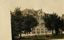 A View Of Sacred Heart College, Prairie du Chien, Wisconsin WI RPPC