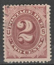 USA Scott #  J 16 Postage Due 2 Cent Red Brown used (J16-2)