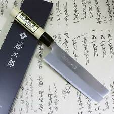 Tojiro Japanese Knife Chef White Steel Shirogami Grinding Finish Nakiri F/S