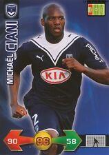 MICHAEL CIANI # FRANCE GIRONDINS BORDEAUX CARD CARTE PANINI ADRENALYN FOOT 2010