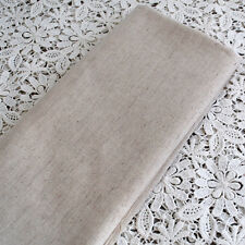 Japanese Plain Cotton Linen Blend Craft Fabric - FQ - 55cm Wide x 50cm Long