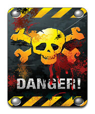 Warning Danger Mouse Mat - Fantasy/Goth