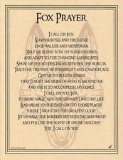 FOX Parchment Page for Book of Shadows, Altars!