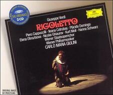 Verdi: Rigoletto (2 CD set Deutsche Grammophon USA))