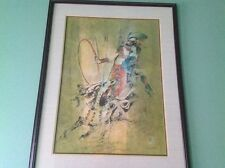 LEBADANG CIRCUS I SUITE LIMITED EDITION LITHOGRAPH #82/275 HAND SIGNED FRAMED