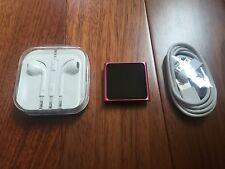 Apple iPod nano 6th Generation Pink (16 GB) New