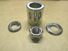 Front Axle Mounting / Spacer Kit, Harley Softail, Dyna, FLT