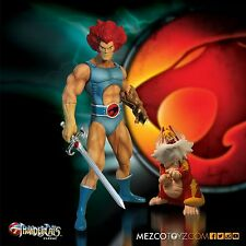 "2016 MEZCO THUNDERCATS CLASSIC LION-O & SNARF 14"" MEGA-SCALE ACTION FIGURE SET"