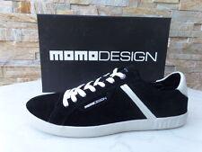 Momodesign sneakers talla 41 zapatillas deportivas zapatos Shoes Black nuevo