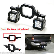 Off-Road 4x4 Truck SUV Tow Hitch Dual Reverse Backup Lamp Light Mounting Bracket