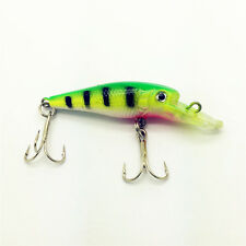 NEW 3.4g/6CM Plastic Minnow Fishing Lures Bass Crankbait Crank Bait Tackle YE34