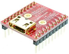 HDMI mini Type C Female socket Breakout Board, adapter,  eLabGuy HDMI-CF-BO-V1A