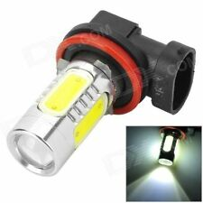 2 Pc Ultra Bright H8 5 COB CREE LED White Fog Light Bulb Lamp Light 400 Lumens