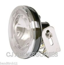 Mini Halo LED Headlight Spot Light Bottom Or Side Mount Cafe Racer Streetfighter