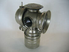 Antique Solar Carbide Bicycle Lamp Badger Brass Mfg. Co. Steampunk Rat Rod