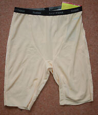 NEW Sz L 10-16 Reebok Easytone control exercise sports Shorts In Nude gift