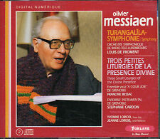 CD album: Olivier Messiaen: turangalila. Louis de Froment. forlane . 2 CDs. A