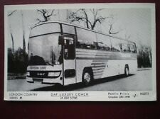 POSTCARD GREEN LINE DAF LUXURY COACH A832 NTW