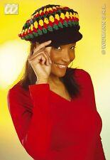 CAPPELLO JAMAICA Carnevale Rasta Bob Marley Capelli Travestimenti Accessor 8444V