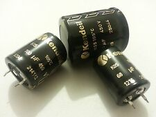 2pcs NEW KENDEIL 330uf 450V HI END TUBE AMP AUDIO CAPS 105C