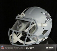 DALLAS COWBOYS Full Size SPEED REPLICA Helmet - With VISOR
