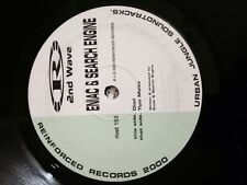 "Eniac & Search Engine- Diad/ Tipo Molex 12"" Reinforced Recordings Drum and Bass"