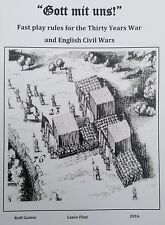 """""""Gott mit uns!"""" wargames rules for the TYW and ECW"""
