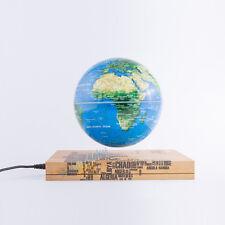 "6""Magnetic Floating Rotating Globe World Map With Book Base Partner Xmas Gift"