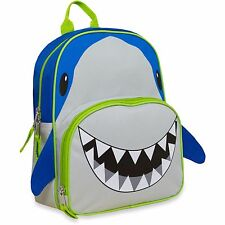 "12"" Shark Backpack with Shark Pencils NEW Animal Friends Critter School Bag"
