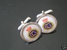HM COASTGUARD CHROME FINISH CUFFLINKS NEW