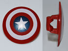 LEGO - Minifig, Shield Rounded with Bullseye with Star Pattern - Captain America