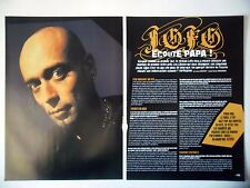 COUPURE DE PRESSE-CLIPPING :  LOFOFORA [3pages] 2005 Reuno,Choses qui dérangent