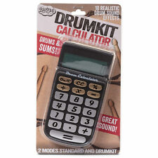 DRUM CALCULATOR - Drum Machine Desktop Drum Kit - Sound Generating Novelty