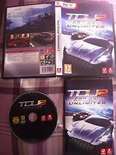 Test Drive 2 Unlimited  (PC game) (Fully complete with original paper manual)