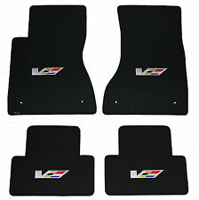 2004-2007 Cadillac CTS-V FLOOR MAT SET, LLOYD Classic Loop™ V Logo on all 4 Mats