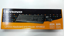 LENOVO KEYBOARD MOUSE COMBO KM4802 USB 2.0 - BLACK