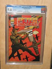 PETER PANZERFAUST 1 CGC 9.6 RARE 2nd Second Print variant Image Pan graded comic
