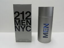 212 Men NYC By Carolina Herrera 3.4 OZ 100 ML Eau De Toilette Spray Box Sealed