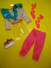 Barbie FASHIONISTA STYLE LIFE IN THE DREAM HOUSE Doll Clothes Lot Pink Pant Set