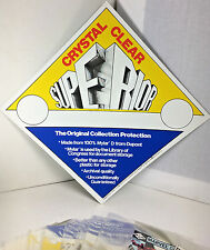 """4ML THICK MYLAR D PACK OF 25, 7 1/4 X 11.5"""" MOD COMIC SIZE TOP QUALITY"""