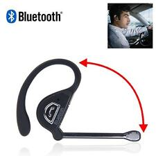 Noise Cancelling Wireless Handsfree Bluetooth Boom Mic Headset For Trucker D~