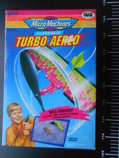 TURBO AEREO FILOGUIDATO MICRO MACHINES MicroMachines © Galoob GiG